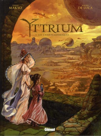 Couverture yttrium tome 1 - les chants cosmiques
