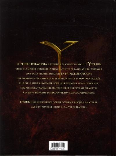 Dos yttrium tome 1 - les chants cosmiques