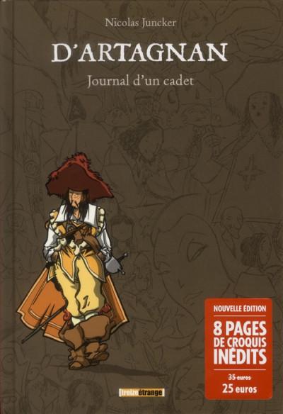Couverture d'Artagnan ; journal d'un cadet