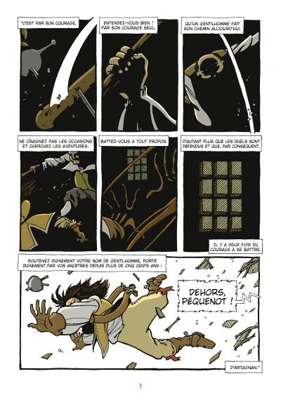 Page 1 d'Artagnan ; journal d'un cadet