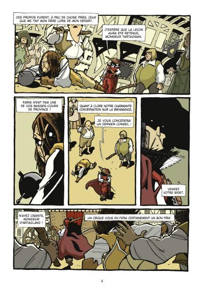 Page 2 d'Artagnan ; journal d'un cadet
