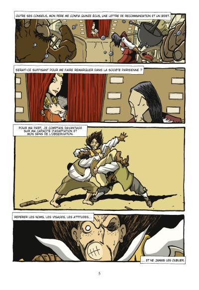 Page 3 d'Artagnan ; journal d'un cadet