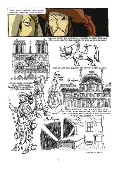 Page 4 d'Artagnan ; journal d'un cadet