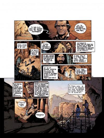 Page 1 Le troisième testament - Julius tome 2