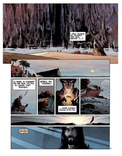 Page 2 Le troisième testament - Julius tome 2