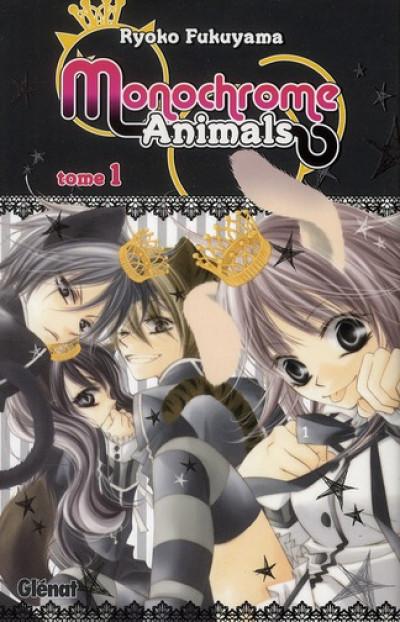 Couverture monochrome animals tome 1