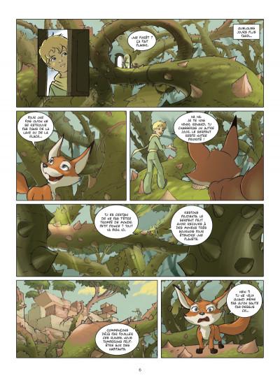 Page 4 le petit prince tome 4 - la planète de Jade