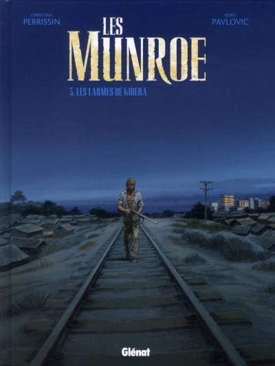 Couverture les Munroe tome 3 - les larmes de Kibera