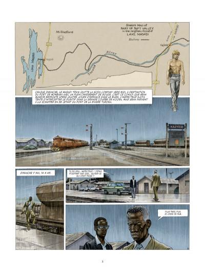 Page 1 les Munroe tome 3 - les larmes de Kibera