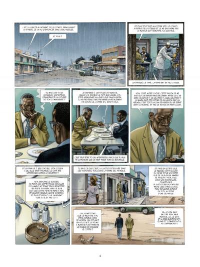 Page 2 les Munroe tome 3 - les larmes de Kibera