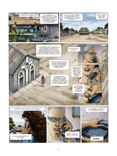 Page 3 les Munroe tome 3 - les larmes de Kibera