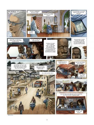 Page 4 les Munroe tome 3 - les larmes de Kibera