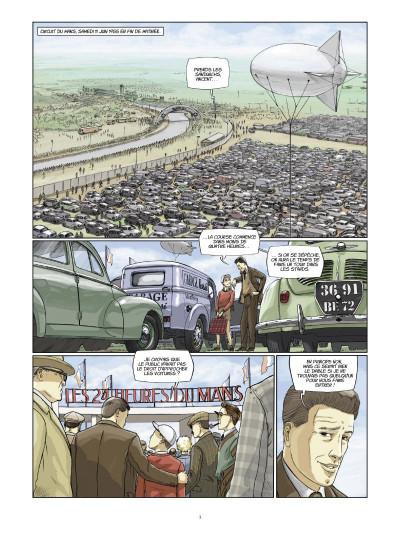 Page 1 trajectoires tome 1 - deux tours d'horloge