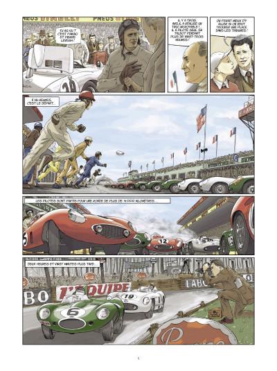 Page 3 trajectoires tome 1 - deux tours d'horloge