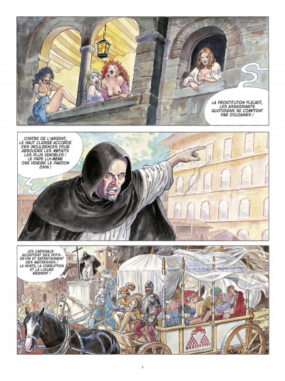 Page 3 Borgia ; intégrale luxe