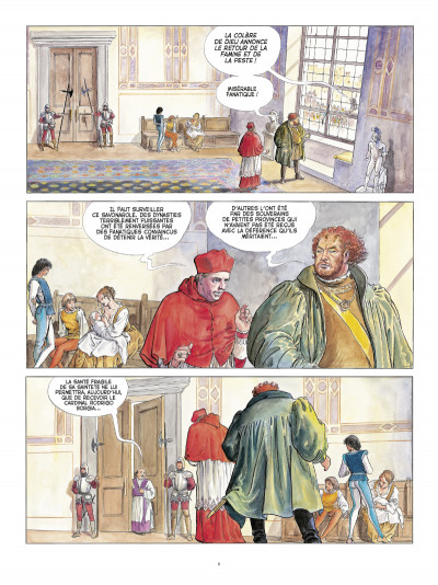Page 4 Borgia ; intégrale luxe