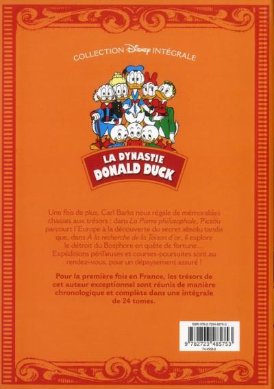 Dos la dynastie Donald Duck ; INTEGRALE VOL.5 ; 1954-1955 ; les Rapetou dans les choux ! et autres histoires