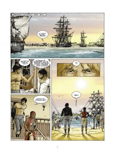 Page 1 Les pirates de Barataria tome 5