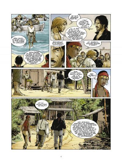 Page 2 Les pirates de Barataria tome 5