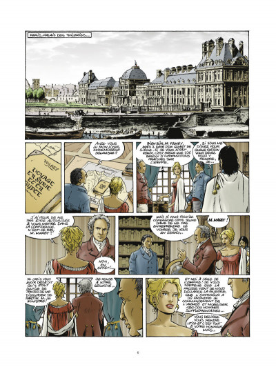 Page 4 Les pirates de Barataria tome 5