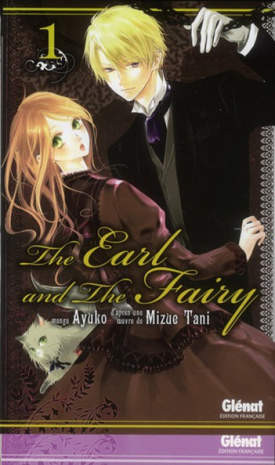 Couverture the earl and the fairy tome 1