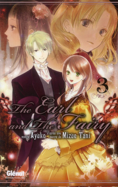 Couverture the earl and the fairy tome 3
