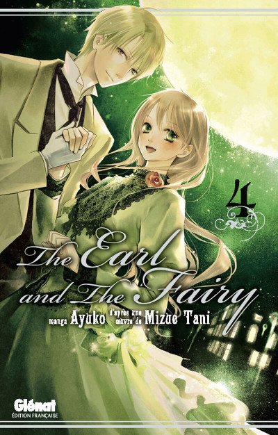 Couverture the earl and the fairy tome 4