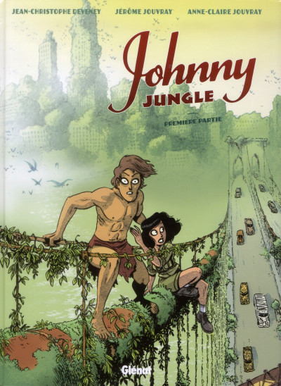 Couverture Johnny Jungle tome 1