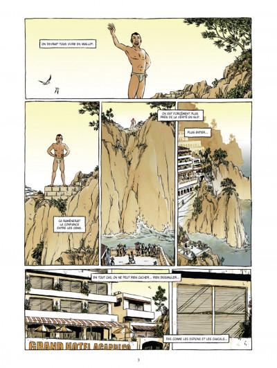 Page 1 Johnny Jungle tome 1