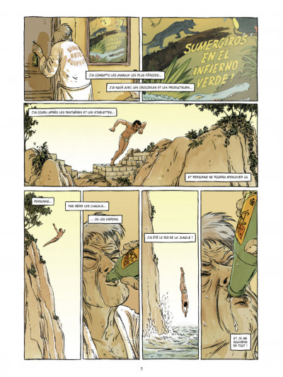 Page 3 Johnny Jungle tome 1