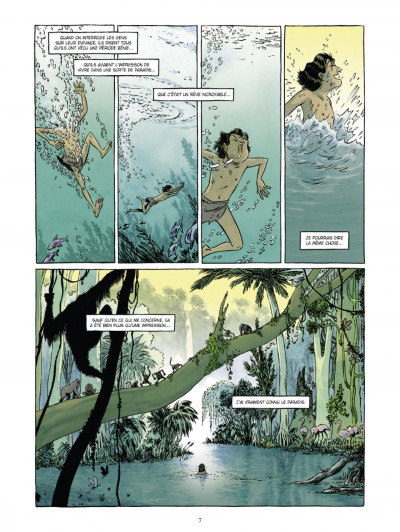 Page 4 Johnny Jungle tome 1