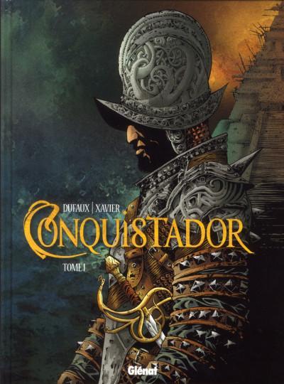 Couverture conquistador tome 1
