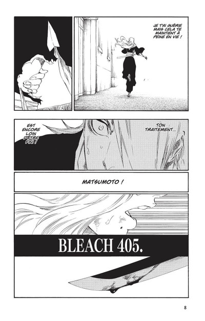 Page 7 bleach tome 47 - end of the chrysalis age