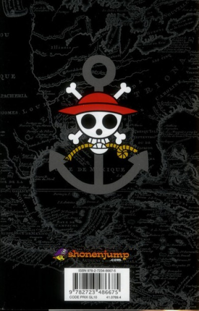 Dos one piece tome 60 - petit frère