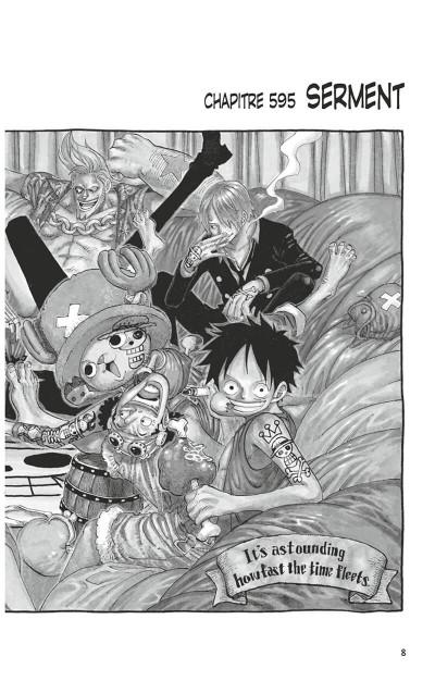 Page 7 one piece tome 61 - à l'aube d'une grande aventure vers le nouveau monde