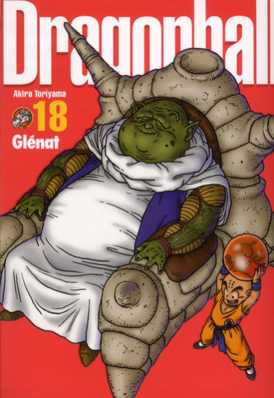 Couverture dragon ball tome 18 - perfect édition