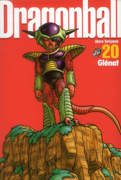 Couverture dragon ball tome 20 - perfect edition