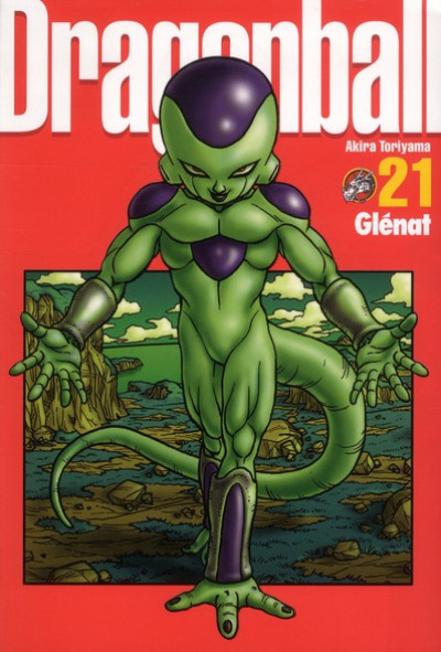 Couverture Dragon ball tome 21 - perfect édition