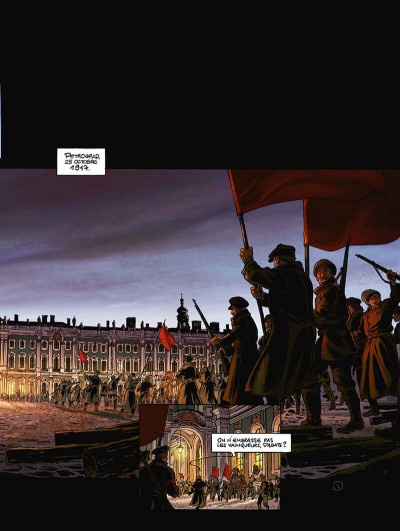 Page 4 la guerre des amants tome 1 - rouge révolution
