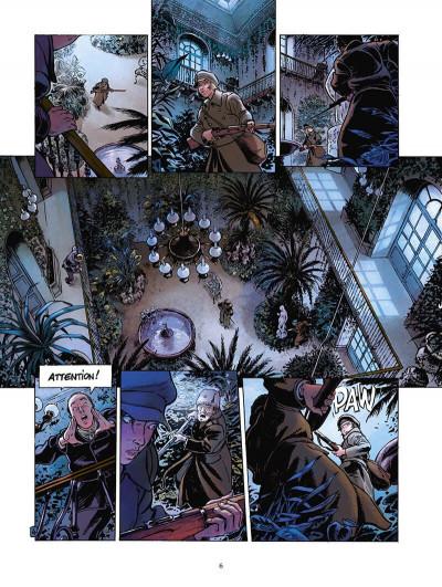 Page 7 la guerre des amants tome 1 - rouge révolution