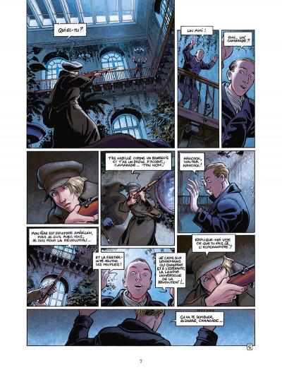 Page 8 la guerre des amants tome 1 - rouge révolution