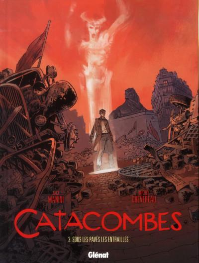image de catacombes tome 3 - sous les pavés, les entrailles
