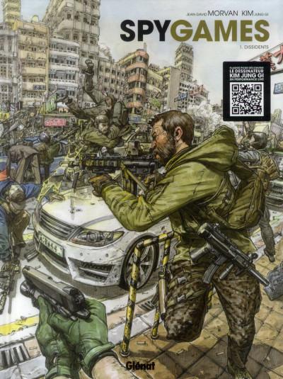 image de spy games tome 1 - dissidents