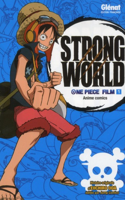 Couverture one piece - strong world tome 1