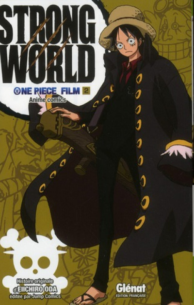 Couverture one piece - strong world tome 2