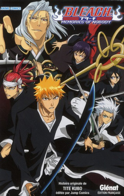 Couverture bleach; memories of nobody