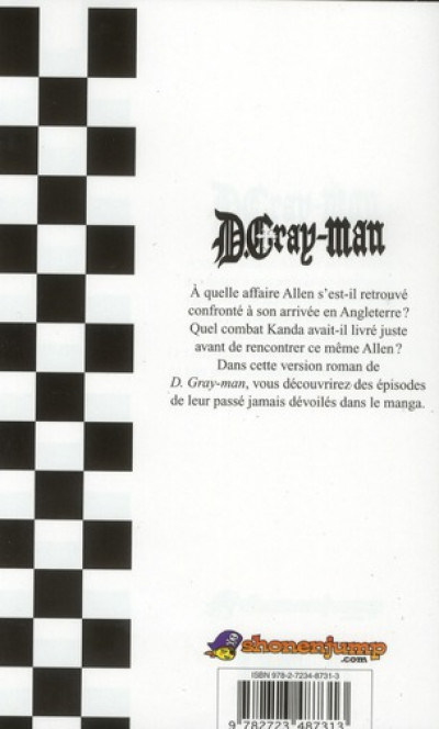 Dos D.gray-man reverse tome 1