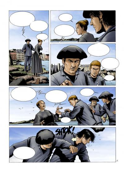 Page 4 les chasseurs d'écume tome 2 - 1909, les maîtresses du quai