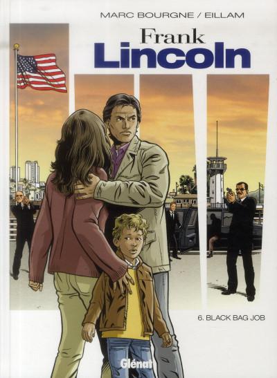 Couverture Frank Lincoln tome 6 - black bag job