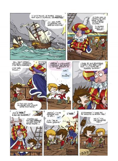 Page 2 les Chronokids T.4